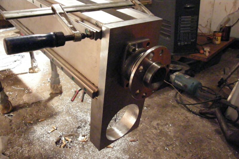 New Machine Build 5axis Photos New Build